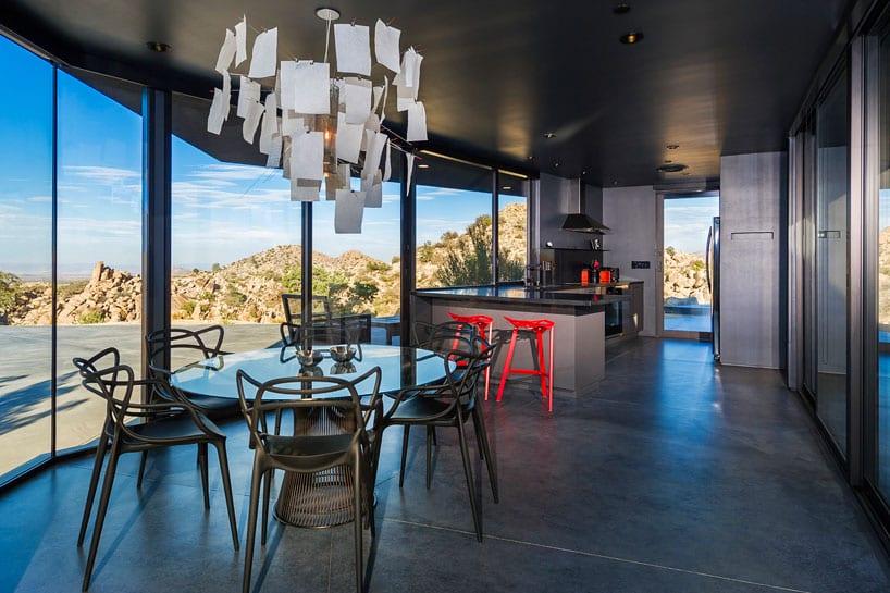 Black Desert House Dining Area