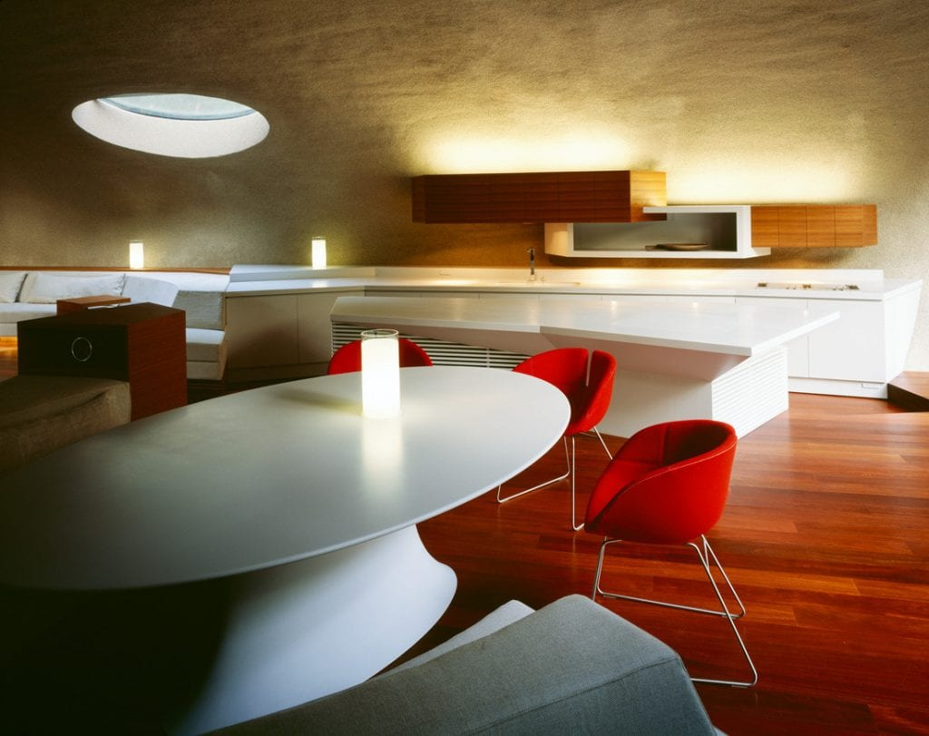 Shell House Dining Area